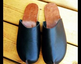 Hand Made Leather Clogs - Bikale Clogs