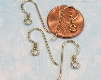 Tierracast Gold Filled Wrapped Hook Earwires (2 Pair) - Item 982