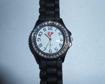 ram diamond dial watch