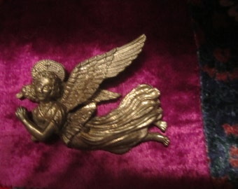 Metal Angel Necklace Piece