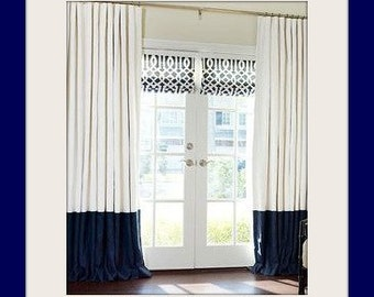 You Choose Your Colors, How many Stripes, Window Treatment, Nautical Home Decor, Drapes, Curtains, Nautical, Striped Curtains