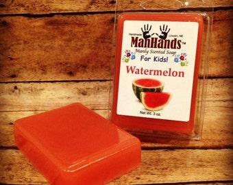 Watermelon Scented Soap 3 oz. Bar