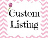 Custom Listing for ritapita69