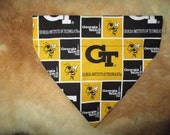 Georgia Tech Pet Bandana