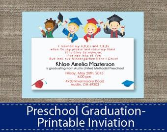 preschool graduation invitation  etsy, invitation samples