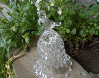 CRYSTAL BIRD BELL