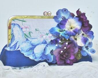 Shabby Chic Wedding / Something Blue / Vintage Bride / Mother of the Bride / Farmhouse Wedding