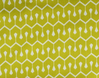 SALE True Colors New Wave in Olive Fabric  by Heather Bailey for Free Spirit Fabrics