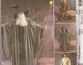 McCall's Witch/Wizard Costume for Adult or Kids - Pattern 3789