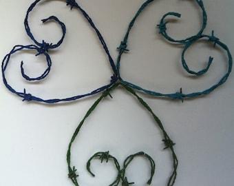Heart, Clover, 4 Four Leaf Clover, Sunflower, Garden Flower, Garden Decor