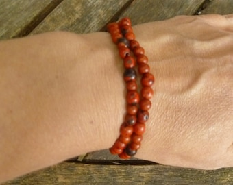 Brown Siena Achira or Achuy Palm Small Seeds. 1 Strand, 280 seeds aprox.Natural Seeds.5mm. Ethnic Jewelry Seeds- Beads
