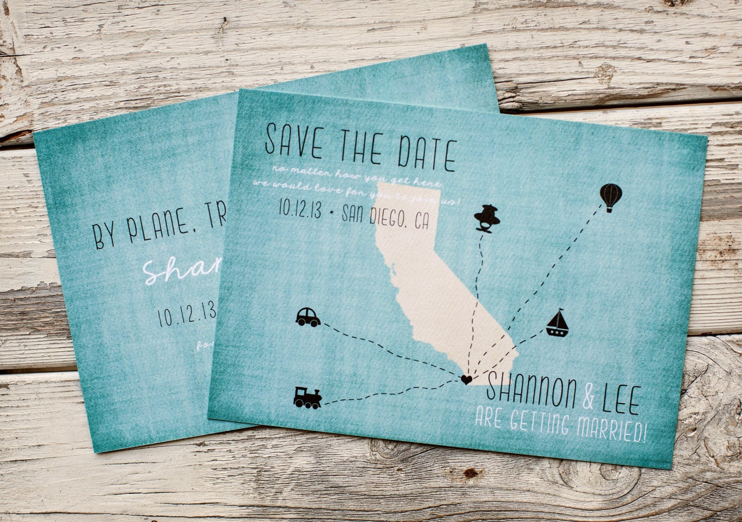 Destination Wedding Save the Date rustic Save the Date The – Wedding Save the Date