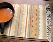 Southwest Design Woven Table Mat Wallhanging Cotton