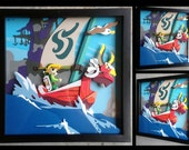 "12"" x12"" The Wind Waker Shadowbox"