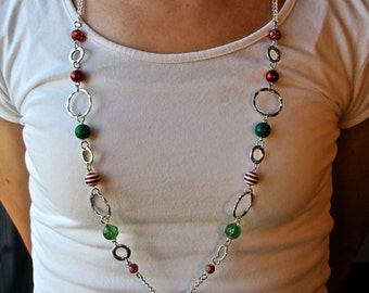 Christmas Lanyard Necklace