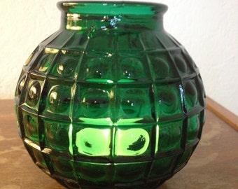 Green East Berlin Television Tower Tea Light Holder / Vase