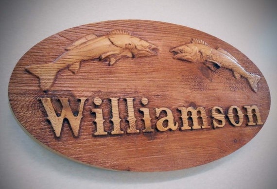Cabin Name Plaque, Sign Carved 3D Rustic  Man Cave  Garage Sign  Monster Truck Custom Design