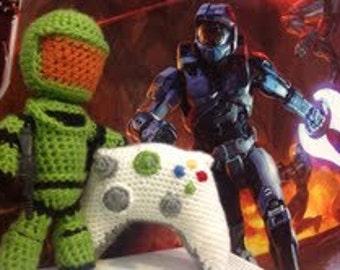 Xbox Crochet Pattern : Elsa and Anna Frozen Crochet PATTERN