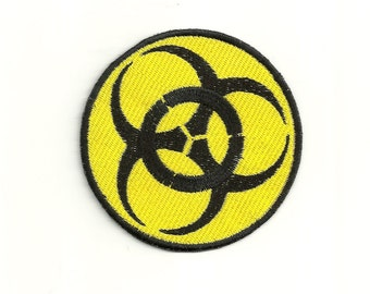 Biohazard Patch, Any Color Combo! Custom Made!