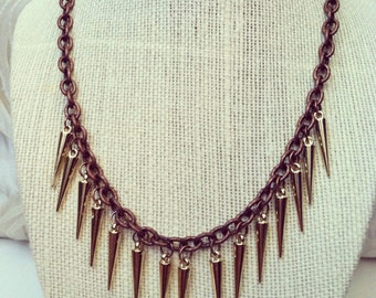 Spiked Chain Necklace
