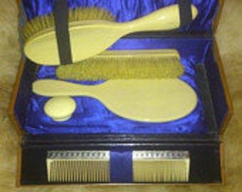Boxed vintage vanity set