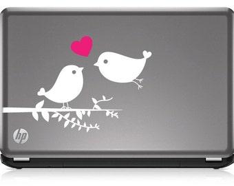 Bird Laptop Decal Etsy - Window decals for birds