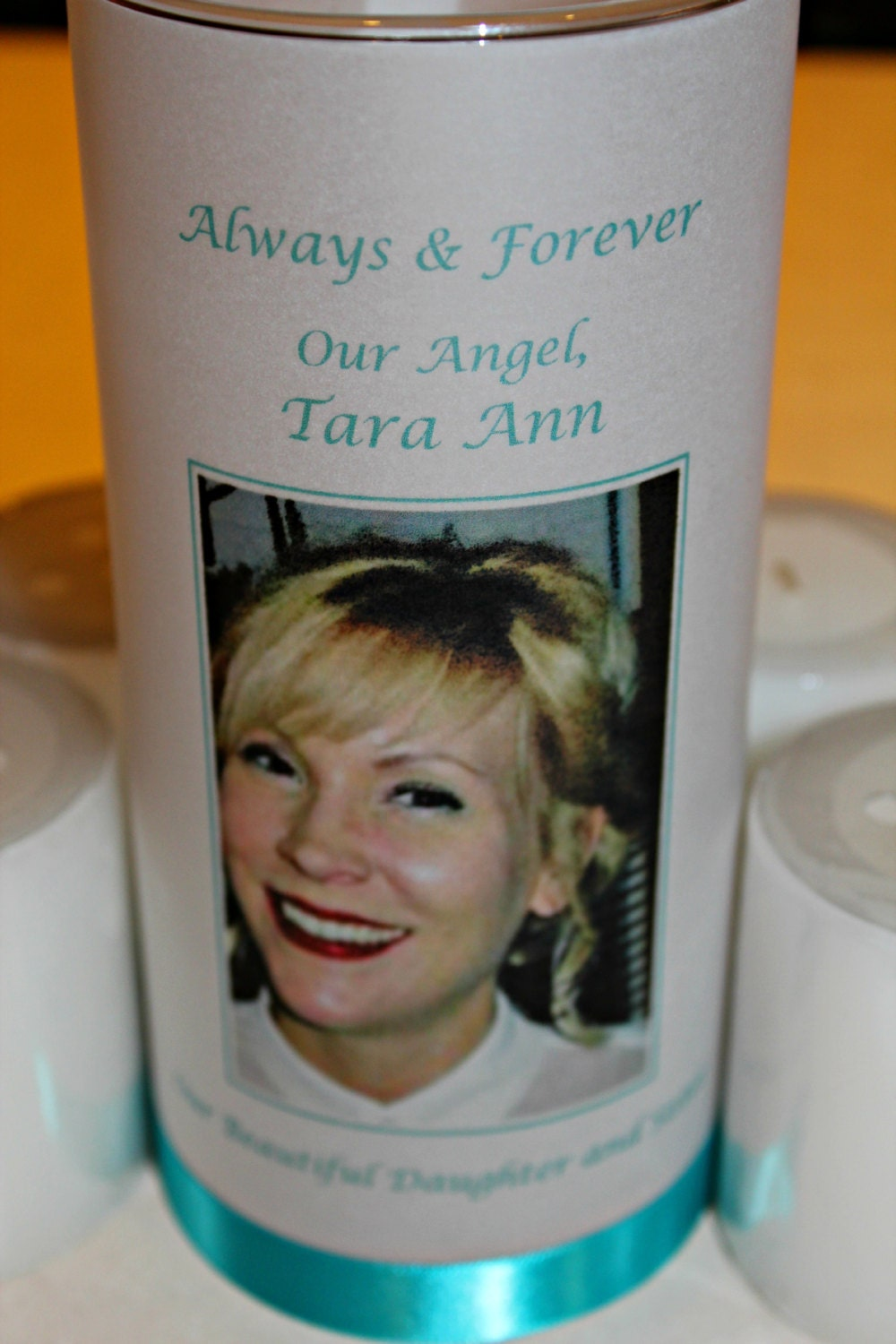 Memorial Candle Funeral Candle Wedding Candle Celebration