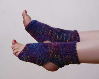 PATTERN ONLY Knitting Pattern Yoga Socks. Stirrup Socks Exercise Socks. Pilates. Dance Socks. Adult. Women's
