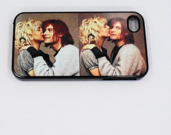 Iphone 6 7  5 iphone 4/4S Courtney Kurt Rock Stars case mobile cell Phone case cover cell phone snap case black blue