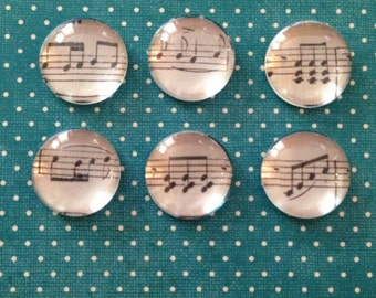 Music Note Bubble Magnets