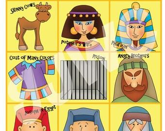 JOSEPH in Egypt BINGO - Downloadable PDF Only