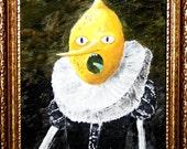 Earl of Lemongrab (8x10 acrylic painting on board)