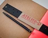 Black Ruler - 12 inch