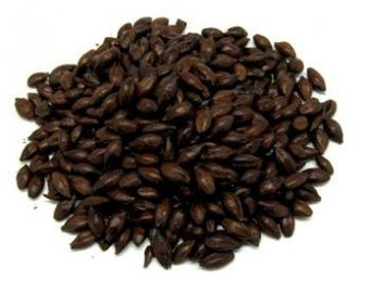 All Natural Raw BLACK PATENT Brewers Malted Grain For Home Beer Brewing 1 Pound