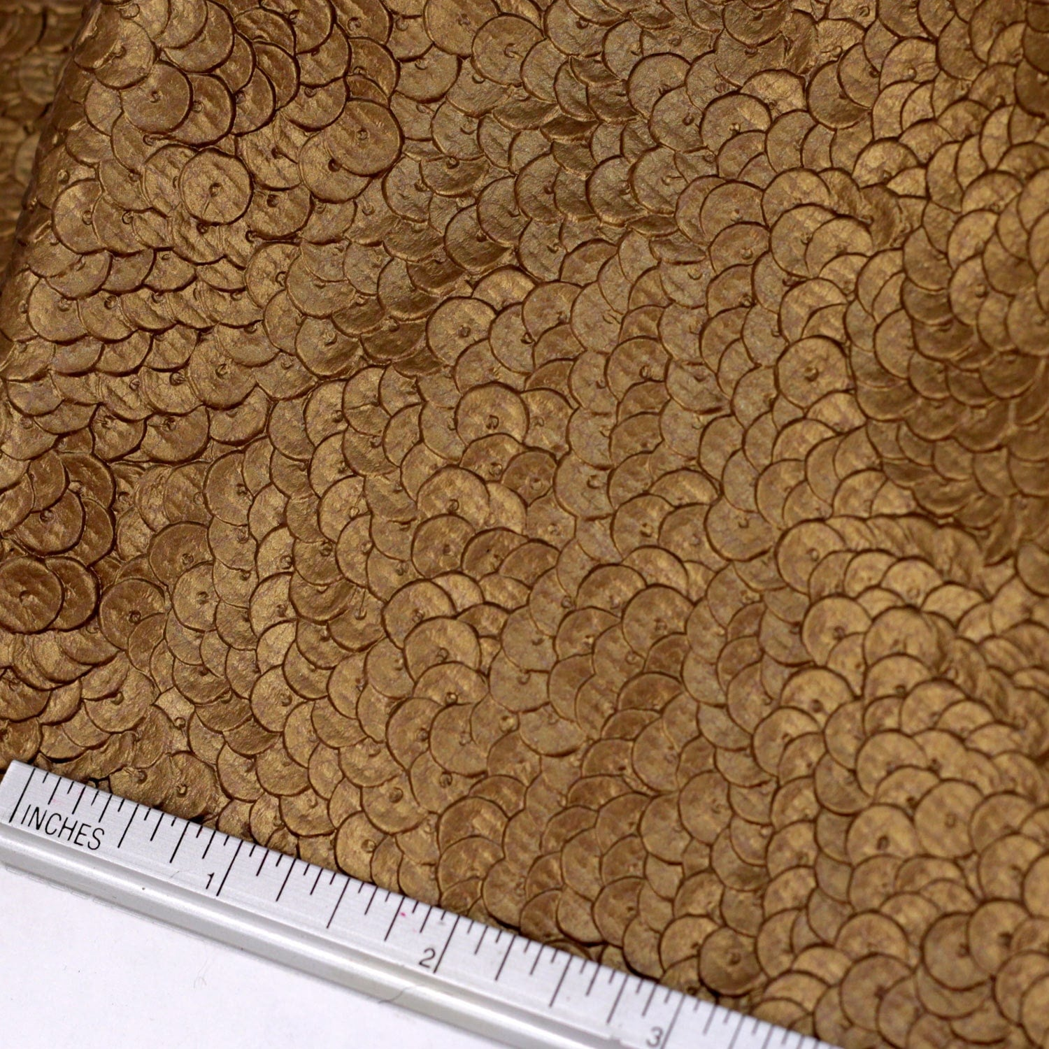 Dragon skin golden embossed fabric dragon scale like