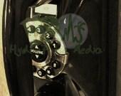 Roaring 20s Telephone Prohibition Gatsby Speakeasy Era Printable Vintage Black Touch Tone Phone Round Dial Round Buttons Historical Icon