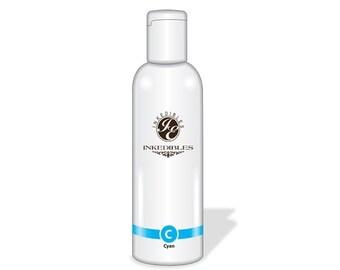 100ml Inkedibles Edible Ink Refill Bottle Epson (Cyan 3.5 oz)