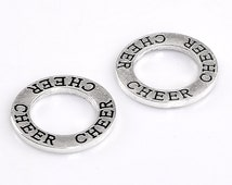 Popular items for circle charm on Etsy