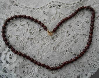 1950's glass necklace/beads