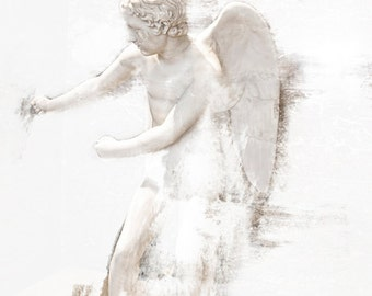 Photography, Art, Cherub Photo, Cherub Print, Cherub Photography, Home Decor, Wall Decor, Fine Art Print, Cherub Art, Dreamy Cherub, Print