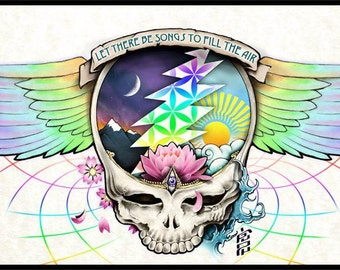 Grateful Dead T- Shirt ...  RIPPLE ... SYF Wings ...  Let there be songs ...