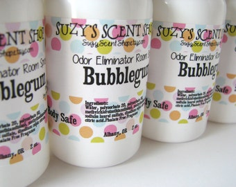Odor Eliminating Room Spray - Bubblegum - Body Spray - Bath and Body - Home Fragrance