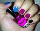Six -  handmade holographic nail polish inspired by BSG