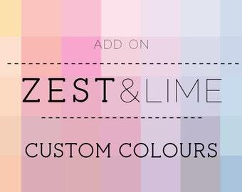 Add-on - Custom Colours