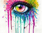 Rainbow- signed Art Print