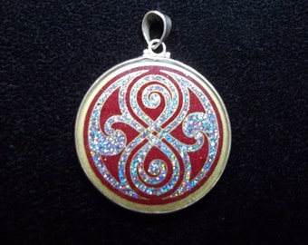 Seal of Rassilon Pendant small