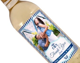 Baby Shower Wine Labels - Custom Wine Label - Personalized Wine Label