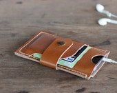 Leather iPhone Case - Honey Smartphone Leather Wallet - 007 - JooJoobs Wallets for Women