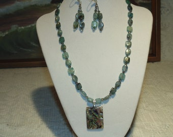 Kayonite Necklace and Earrings - A Very Adorable Set Here -