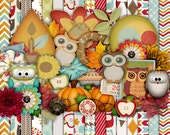 Fall is a Hoot! Kit